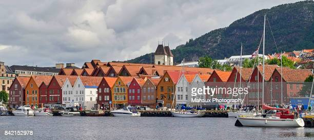 Bryggen, a living part of the cultural heritage of Bergen