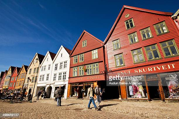 CONTENT] Bryggen also known as Tyskebryggen is a series of Hanseatic commercial buildings lining the eastern side of the fjord coming into Bergen...