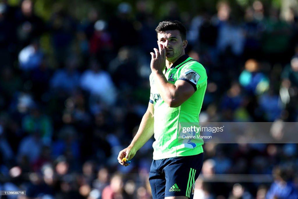 Highlanders v Waratahs - Pre-Season Super Rugby : News Photo
