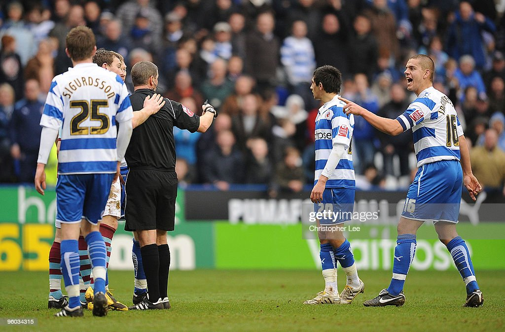 Reading v Burnley - FA Cup 4th Round