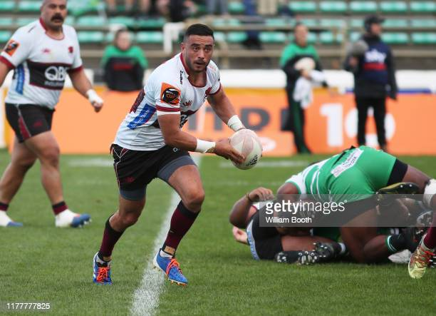 Bryn Hall of North Harbour during the round 8 Mitre 10 Cup match between Manawatu and North Harbour at Central Energy Trust Arena on September 29,...