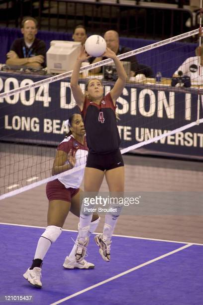 Bryn Kehoe Stanford's freshman setter and ALLTOURNAMENT TEAM selection directed the Cardinals to a 3 to 0 victory over the Minnesota Golden Gophers...