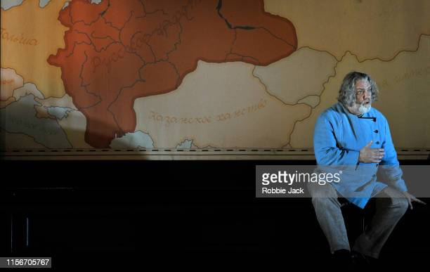 Bryn Terfel as Boris Godunov in The Royal Opera's production of Modest Musorgsky's Boris Godunov directed by Richard Jones and conducted by Marc...