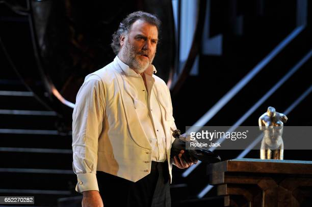 Bryn Terfel as Hans Sachs in the Royal Opera's production of Richard Wagner's Die Meistersinger von Nurnberg directed by Kasper Holten and conducted...