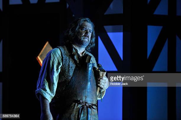 Bryn Terfel as Hans Sachs in Welsh National Opera's production of Richard Wagner's Die Meistersinger von Nurnberg directed by Richard Jones and...