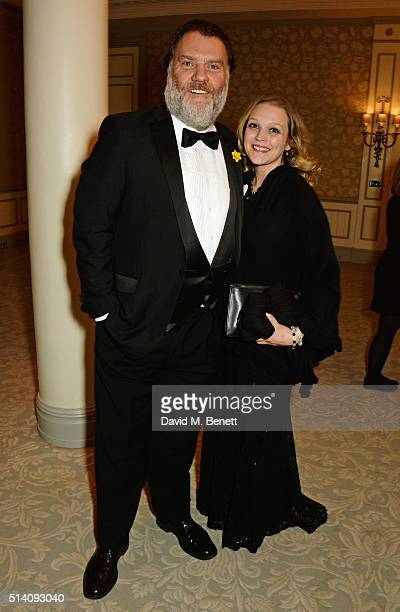 Bryn Terfel attends the after party for the Ave Maya Ballet Gala in memory of Maya Plisetskaya at The Savoy Hotel on March 6 2016 in London England