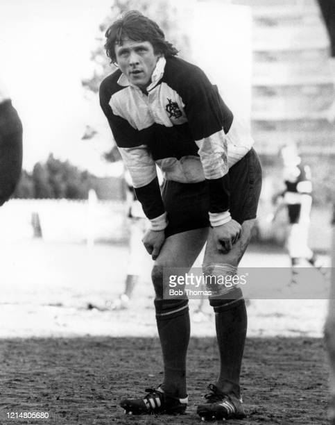 Brynmor Williams of Wales in action for the Barbarians during the Mobbs Memorial match against the East Midlands at Franklins Gardens in Northampton...