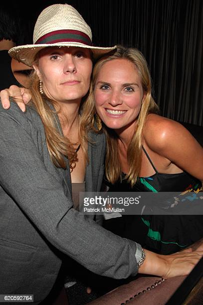 Brynn and Annie Taube attend HAVAIANAS and VOGUE host ROSA CHA AfterParty at 1 OAK NYC on September 6 2008 in New York City
