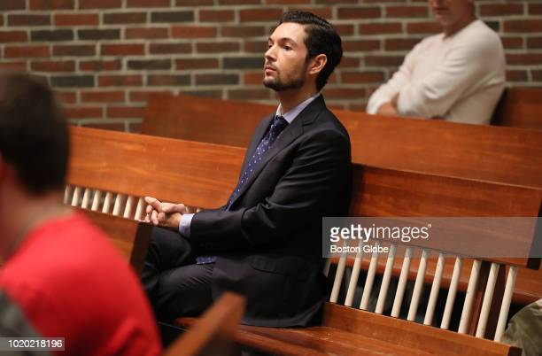 Bryon Hefner appears in Concord District Court in Concord MA on Aug 20 2018 Hefner whos already facing charges of sexually assaulting multiple men...