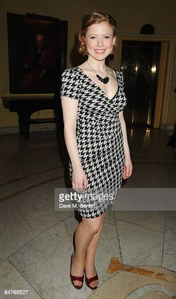 Bryony Afferson attends the press night of 'On The Waterfront' at One Whitehall Place on February 12 2009 in London England