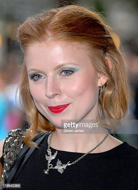 Bryony Afferson of Frank during Lady in the Water London Film Premiere Outside Arrivals at Vue West End in London Great Britain