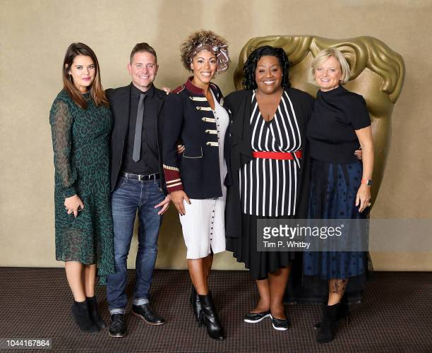 "Bryony Blake, Steve Wilson, Dr Zoe Williams, Alison Hammond and Alice Beer attend a BAFTA tribute evening to long running TV show ""This Morning"" at..."