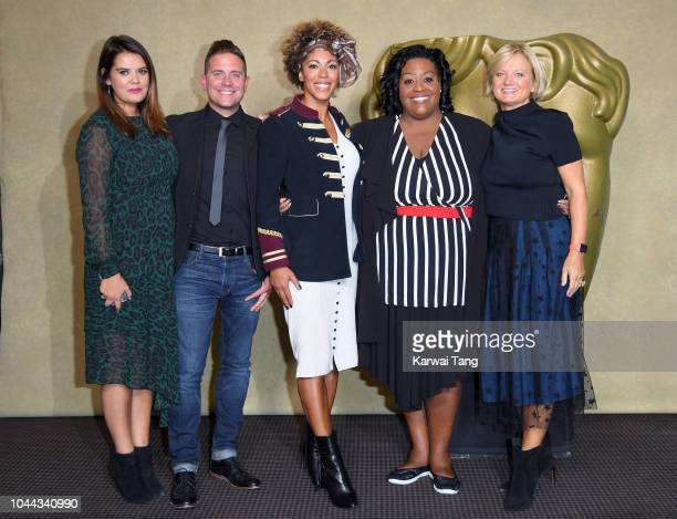 Bryony Blake Steve Wilson Zoe Williams Alison Hammond and Alice Beer attend a BAFTA tribute evening to long running TV show This Morning at BAFTA on...