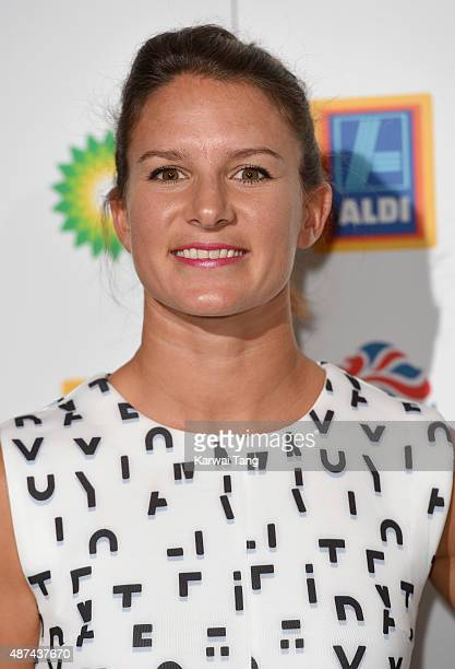 Bryony Shaw attends the Team GB Olympic Ball at The Royal Opera House on September 9 2015 in London England