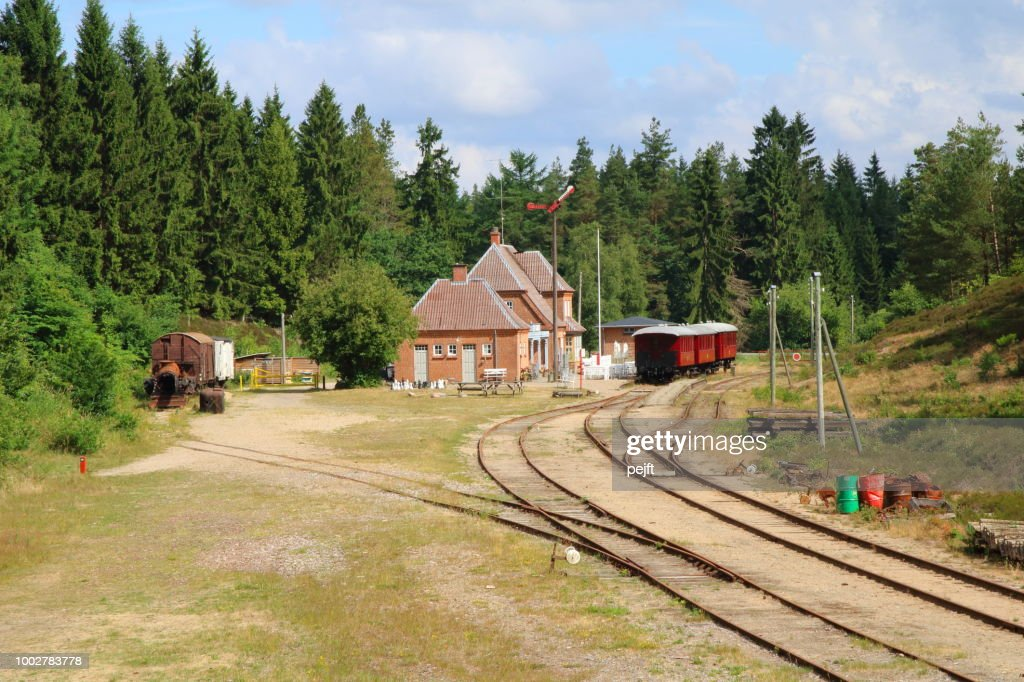 Bryrup - Vrads Veteran Railway : Stock Photo