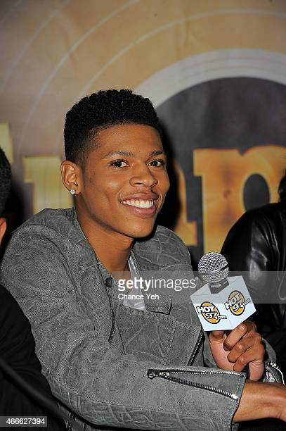 Bryshere Gray aka Yazz the Greatest attends Empire CD Signing at Fulton Center on March 17 2015 in New York City