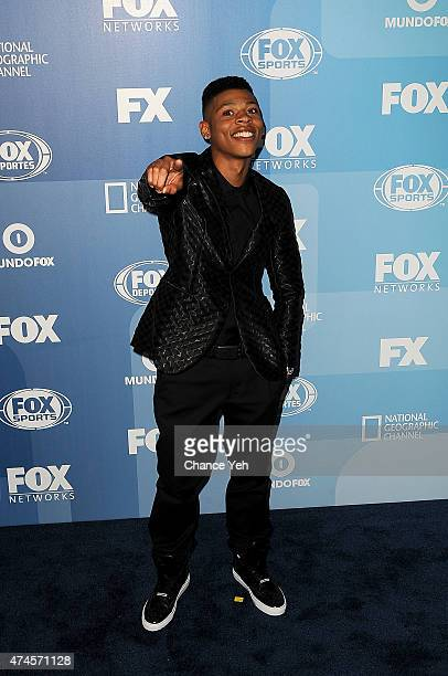 Bryshere Gray attends 2015 FOX Programming Presentation at Wollman Rink Central Park on May 11 2015 in New York City