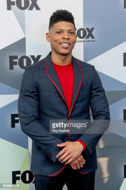 Bryshere Gray attends the 2018 Fox Network Upfront at Wollman Rink Central Park on May 14 2018 in New York City