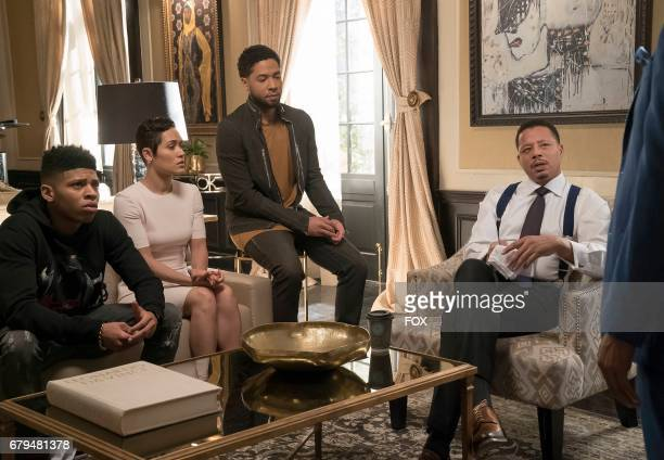 Bryshere Gray Grace Byers Jussie Smollett and Terrence Howard in the Absent Child episode of EMPIRE airing Wednesday May 10 on FOX