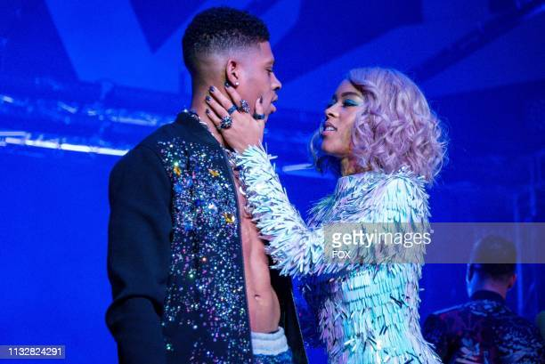 Bryshere Y Gray and Serayah in the Had It From My Father fall finale episode of EMPIRE airing Wednesday Dec 5 on FOX