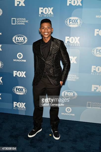 Bryshere Y Gray attends the 2015 FOX Programming Presentation at Wollman Rink Central Park on May 11 2015 in New York City
