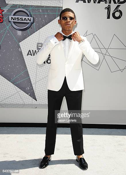 Bryshere Y Gray attends the 2016 BET Awards at Microsoft Theater on June 26 2016 in Los Angeles California