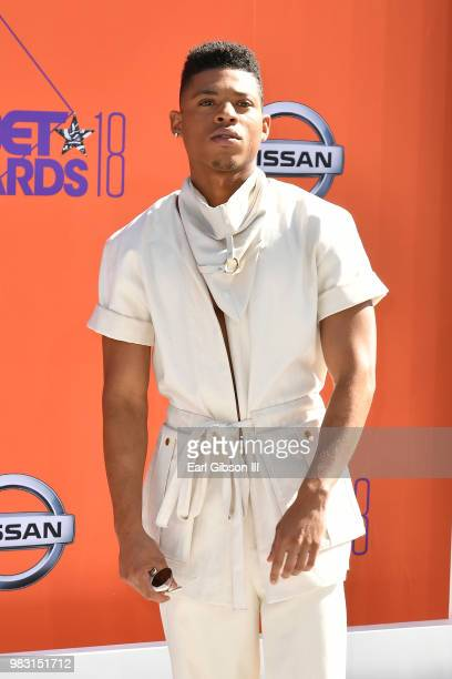 Bryshere Y Gray attends the 2018 BET Awards at Microsoft Theater on June 24 2018 in Los Angeles California