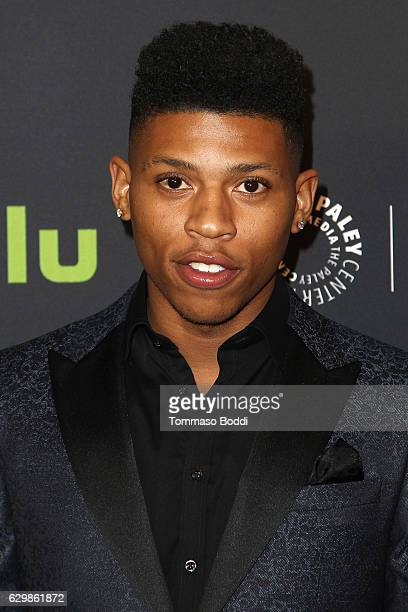 Bryshere Y Gray attends the Paley Center For Media Presents Premiere Of BET's The New Edition Story at The Paley Center for Media on December 14 2016...