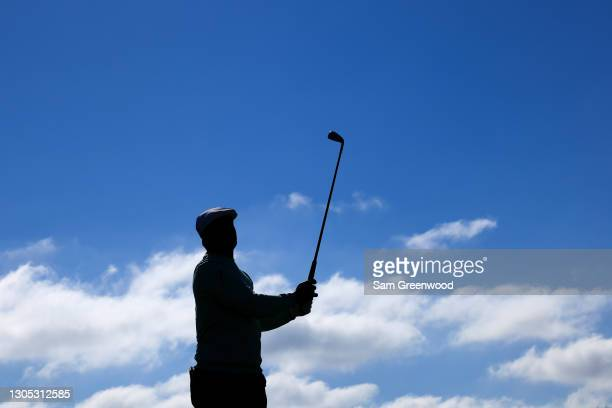 Bryson DeChambeau of the United States plays his shot from the 14th tee during the first round of the Arnold Palmer Invitational Presented by...