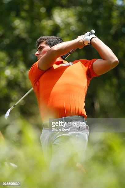 Bryson Nimmer of Clemson tees off during the Division I Men's Golf Individual Stroke Play Championship held at the Karsten Creek Golf Club on May 28...