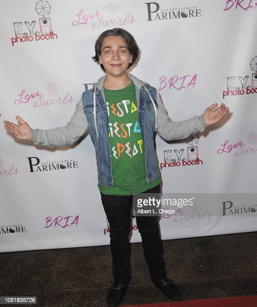 Bryson Robinson arrives for the Music Video Release Party For Bria's 'You Already Had Your Chance' held at Busby's East on October 9 2018 in Los...