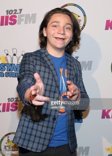 Bryson Robinson attends A Place Called Home's Annual Stars And Strikes Celebrity Bowling And Poker Tournament at PINZ Bowling Entertainment Center on...