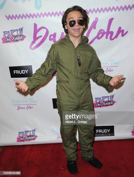 Bryson Robinson attends Dani Cohn's Music Video Release And Halloween Bash held at Los Angeles Center Studios on October 25 2018 in Los Angeles...