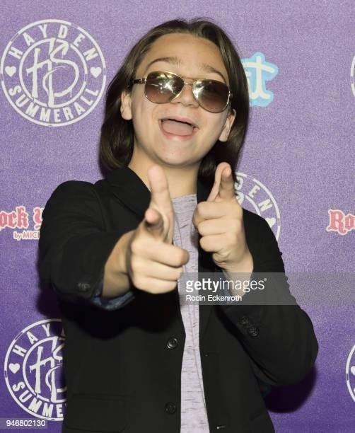 Bryson Robinson attends Hayden Summerall's 13th Birthday Bash at Bardot on April 15 2018 in Hollywood California