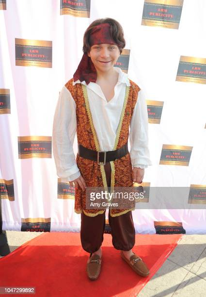 Bryson Robinson attends Jax Malcolm's #ActionJax Movie Morning Fundraiser at the Vista Theatre on October 7 2018 in Los Angeles California