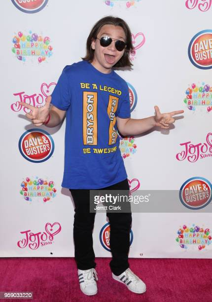 Bryson Robinson attends JoJo Siwa's 15th Birthday Party at Dave Busters on May 15 2018 in Hollywood California