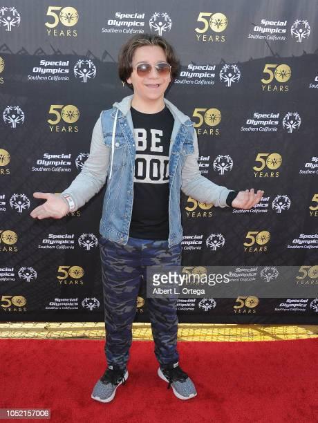Bryson Robinson attends Special Olympics Pier Del Sol held at Pacific Park on the Santa Monica Pier on October 14 2018 in Santa Monica Californi