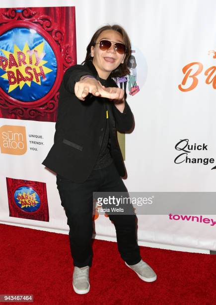 Bryson Robinson attends Spreading the Love event at Starwest Studios on April 7 2018 in Burbank California