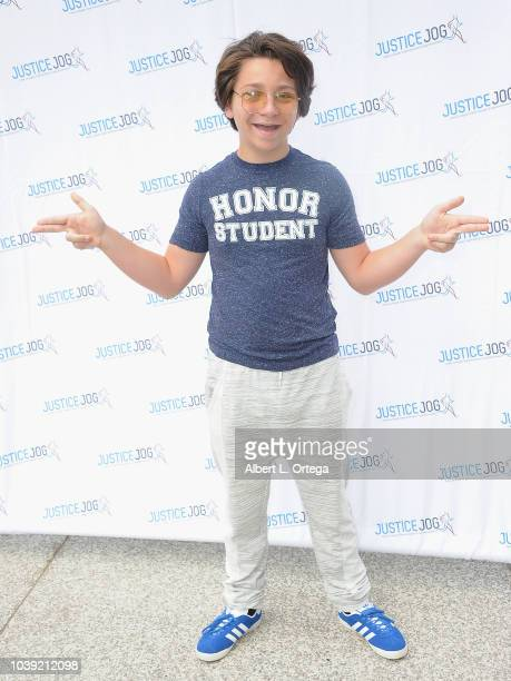 Bryson Robinson attends the 11th Annual Justice Jog To Benefit Casa LA held on September 23 2018 in Century City California