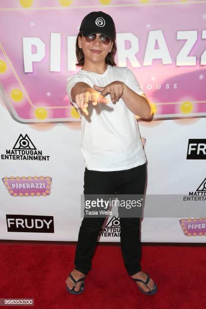 Bryson Robinson attends the premiere of 'Piperazzi' and Matt Dugan's 'Big Big Big Big Birthday Bash' at The Federal Bar on July 13 2018 in North...
