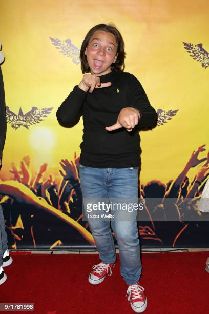 Bryson Robinson attends the Spreading the Love into summer event sponsored by The Rage at The Canyon Club on June 11 2018 in Agoura Hills California