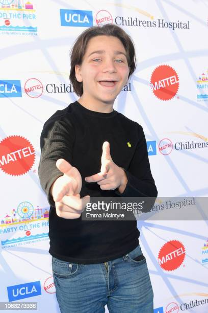 Bryson Robinson attends the UCLA Mattel Children's Hospital's 19th Annual 'Party on the Pier' at Santa Monica Pier on November 18 2018 in Santa...