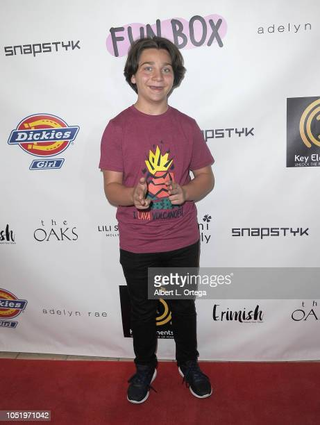 Bryson Robinson attends the VIP Launch Party For FUNBOX held at The Oaks on October 11 2018 in Thousand Oaks California