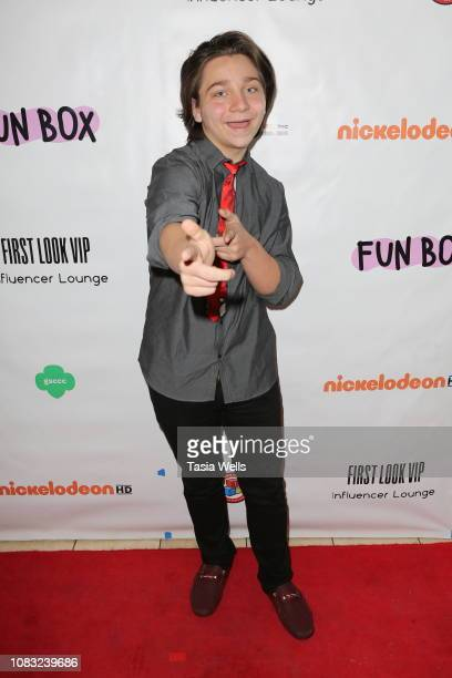 Bryson Robinson attends Toy Tips First Look at Toy Testing at FUNBOX on December 15 2018 in Thousand Oaks California