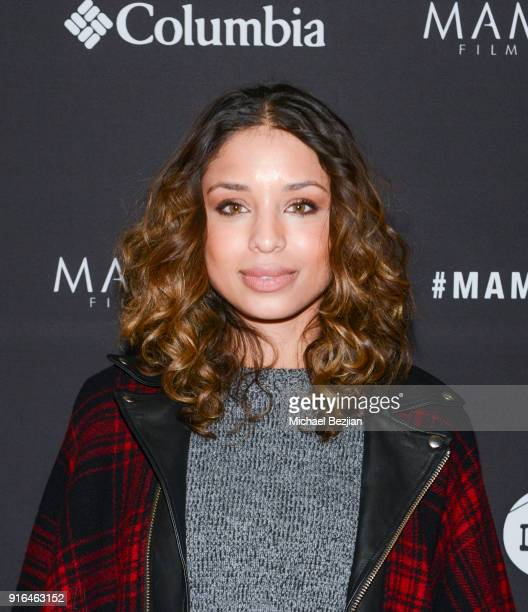 Brytni Sarpy arrives at premier of Truth or Dare at Inaugural Mammoth Film Festival Day 2 on February 9 2018 in Mammoth Lakes California