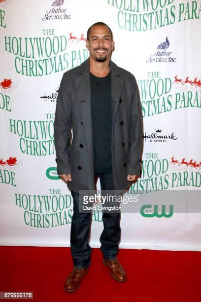 Bryton James at 86th Annual Hollywood Christmas Parade on November 26 2017 in Hollywood California