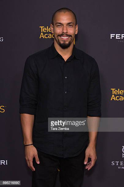 Bryton James attends Television Academy's Daytime Television Celebration at Saban Media Center on August 24 2016 in North Hollywood California