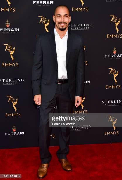 Bryton James attends the Television Academy's Daytime Programming Peer Group Reception at Saban Media Center on August 22 2018 in North Hollywood...