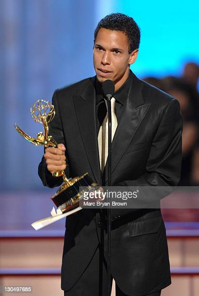 """Bryton McClure accepts Outstanding Younger Actor in a Drama Series award for """"The Young and the Restless"""""""