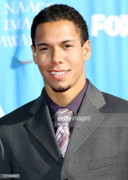 Bryton McClure during 38th Annual NAACP Image Awards Arrivals at Shrine Auditorium in Los Angeles California United States